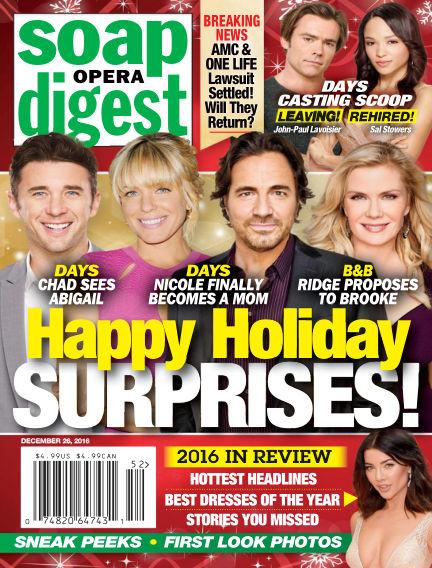 Soap Opera Digest December 16, 2016 00:00