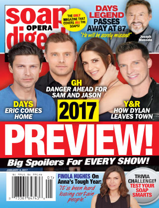 Soap Opera Digest Jan 2 2017