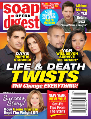 Soap Opera Digest Jan 9 2017