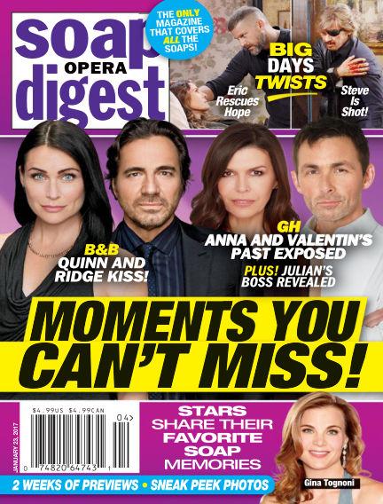 Soap Opera Digest January 13, 2017 00:00