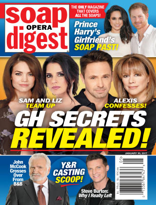 Soap Opera Digest Jan 30 2017