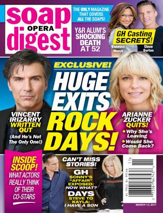 Soap Opera Digest Mar 13 2017