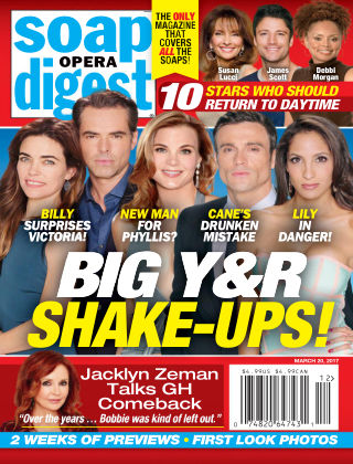 Soap Opera Digest Mar 20 2017