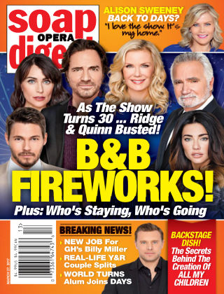 Soap Opera Digest Mar 27 2017