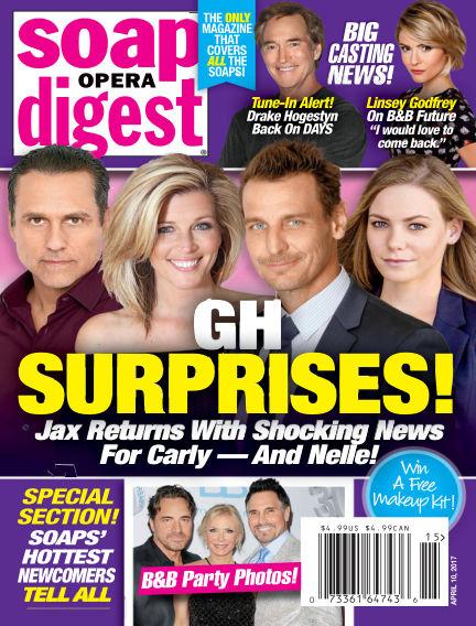 Soap Opera Digest March 31, 2017 00:00