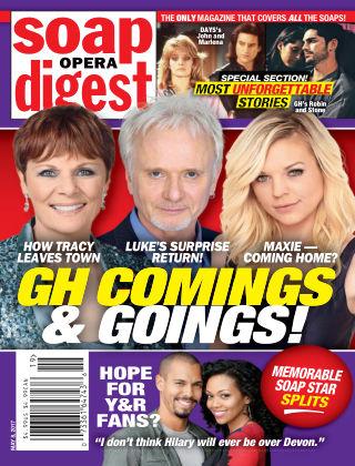 Soap Opera Digest May 8 2017