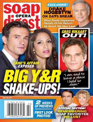 Soap Opera Digest May 29 2017