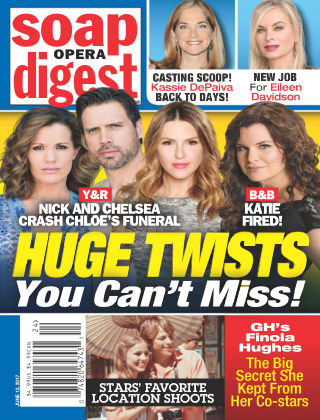 Soap Opera Digest Jun 12 2017