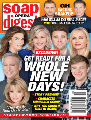 Soap Opera Digest Jul 24 2017