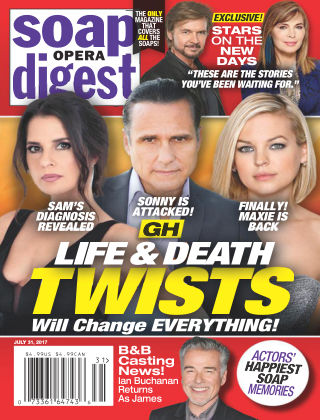 Soap Opera Digest Jul 31 2017