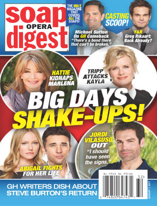 Soap Opera Digest Aug 7 2017