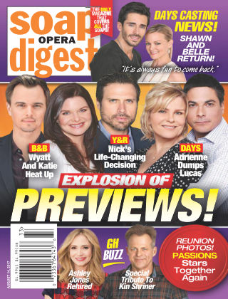 Soap Opera Digest Aug 14 2017