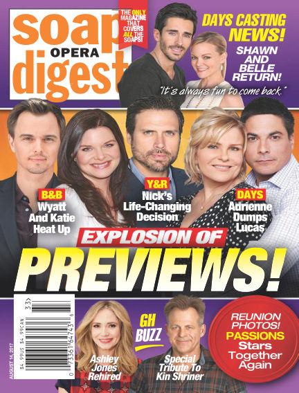 Soap Opera Digest August 04, 2017 00:00