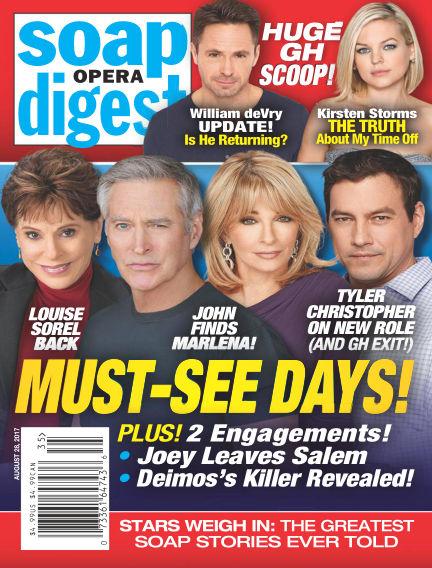 Soap Opera Digest August 18, 2017 00:00