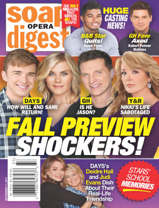 Soap Opera Digest Sep 11 2017