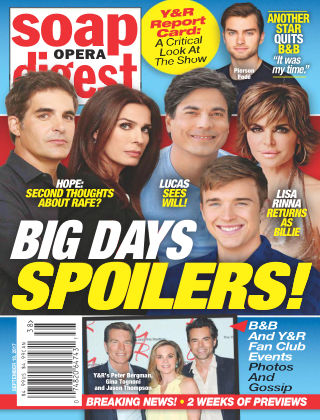 Soap Opera Digest Sep 18 2017