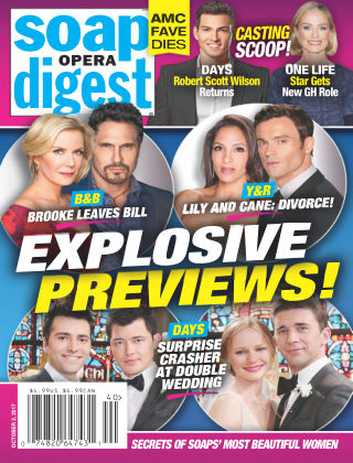 Soap Opera Digest Oct 2 2017