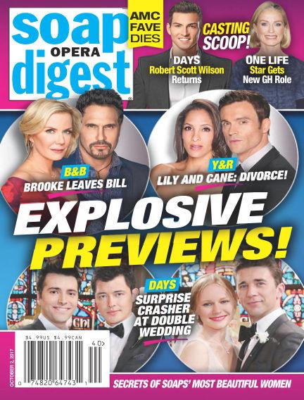 Soap Opera Digest September 22, 2017 00:00