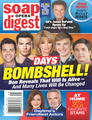 Soap Opera Digest Oct 9 2017