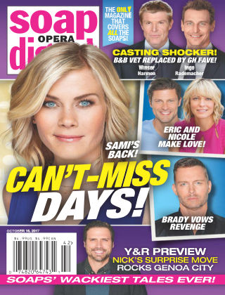 Soap Opera Digest Oct 16 2017