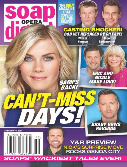 Soap Opera Digest October 06, 2017 00:00