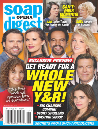 Soap Opera Digest Oct 30 2017