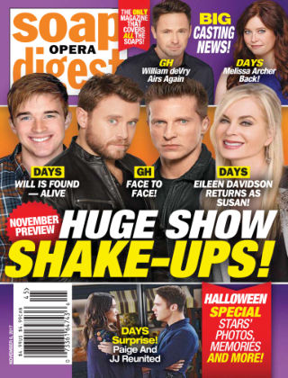 Soap Opera Digest Nov 6 2017