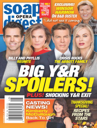 Soap Opera Digest Nov 27 2017
