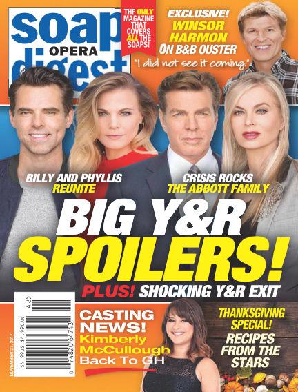 Soap Opera Digest November 19, 2017 00:00