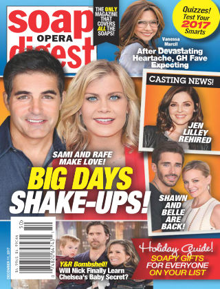 Soap Opera Digest Dec 11 2017