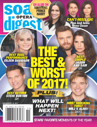 Soap Opera Digest Dec 18 2017
