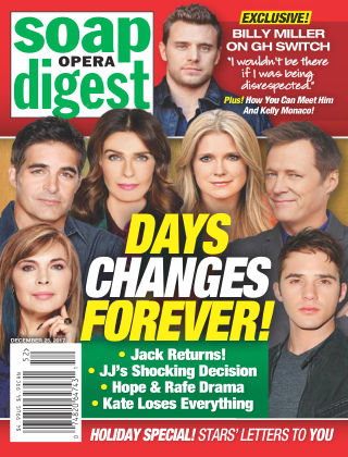 Soap Opera Digest Dec 25 2017