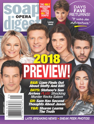 Soap Opera Digest Jan 1 2018