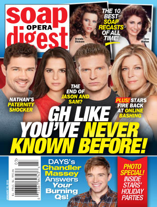Soap Opera Digest Jan 15 2018
