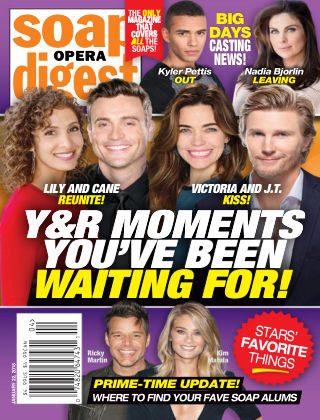 Soap Opera Digest Jan 22 2018