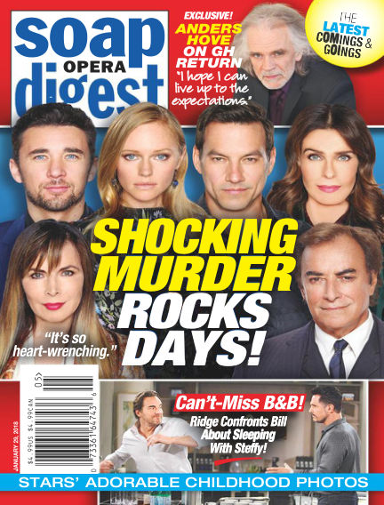 Soap Opera Digest January 21, 2018 00:00