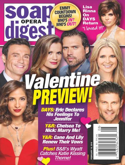 Soap Opera Digest February 11, 2018 00:00
