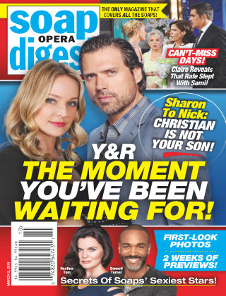 Soap Opera Digest Mar 5 2018