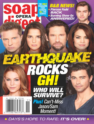 Soap Opera Digest Mar 12 2018