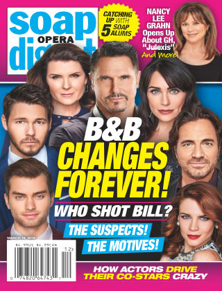 Soap Opera Digest Mar 19 2018