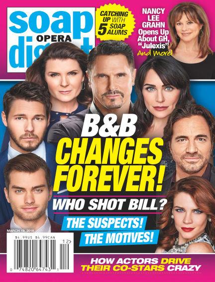Soap Opera Digest March 11, 2018 00:00