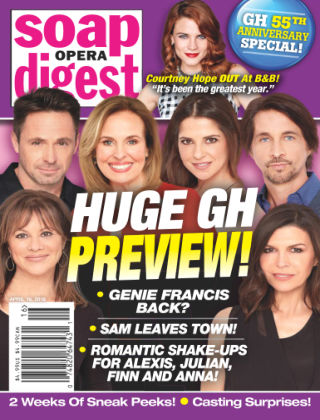 Soap Opera Digest Apr 16 2018