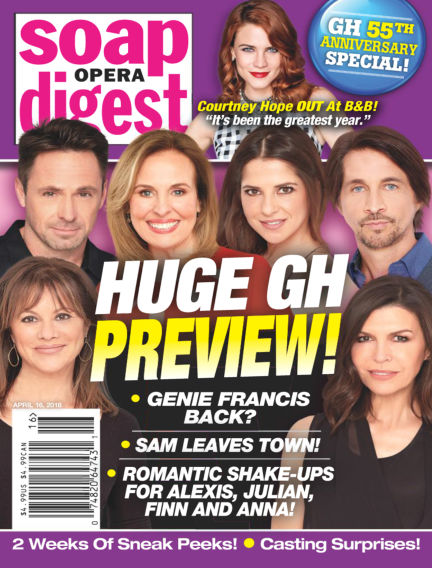 Soap Opera Digest April 04, 2018 00:00