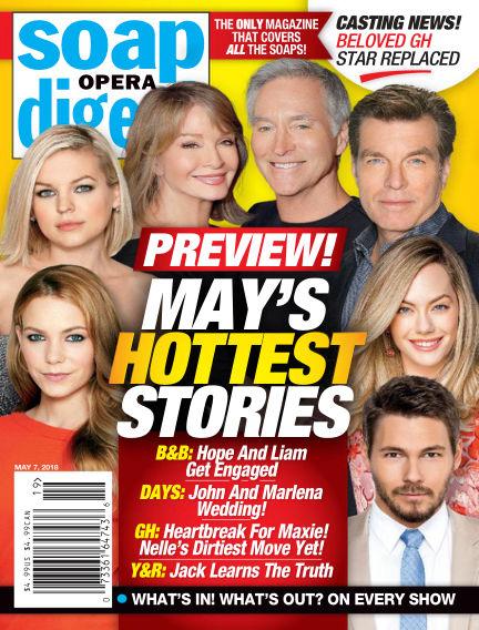 Soap Opera Digest April 29, 2018 00:00