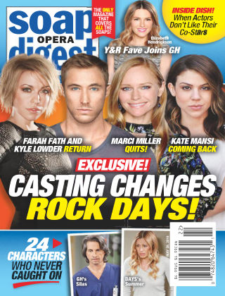 Soap Opera Digest May 28 2018