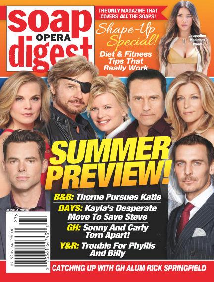 Soap Opera Digest May 27, 2018 00:00
