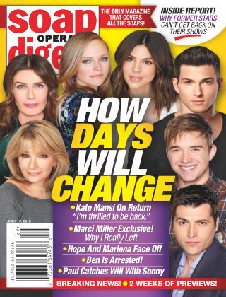 Soap Opera Digest Jul 16 2018