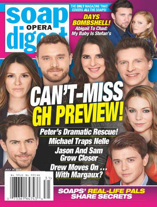 Soap Opera Digest Jul 30 2018