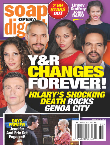 Soap Opera Digest July 29, 2018 00:00