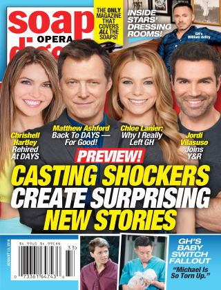 Soap Opera Digest Aug 13 2018